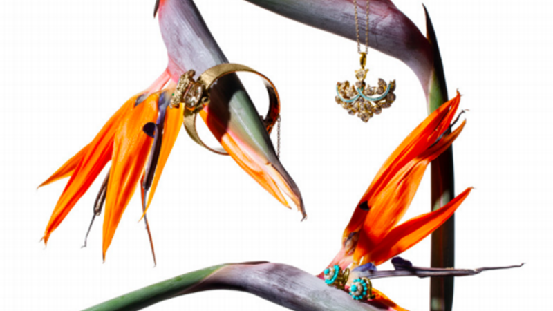 Biżuteria inspirowana kwiatami